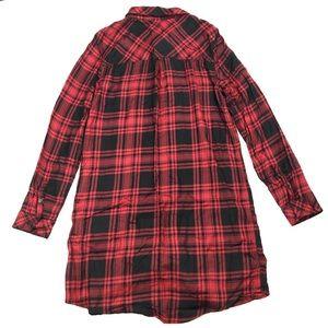 Sanctuary Tops - Sanctuary   Women's Plaid Tunic/Dress Size Medium